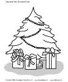 Decorate your Christmas tree worksheet