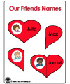 friends folder game activity
