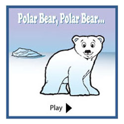 polar bear what do you hear preschool activity