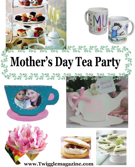 Mother S Day Tea Party Activities Crafts And Ideas