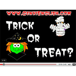 Halloween kids song and video